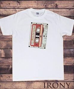Music in the Soul Mens Funny Retro T-Shirt Cassette 80s 90s Pop Dance DJ Top