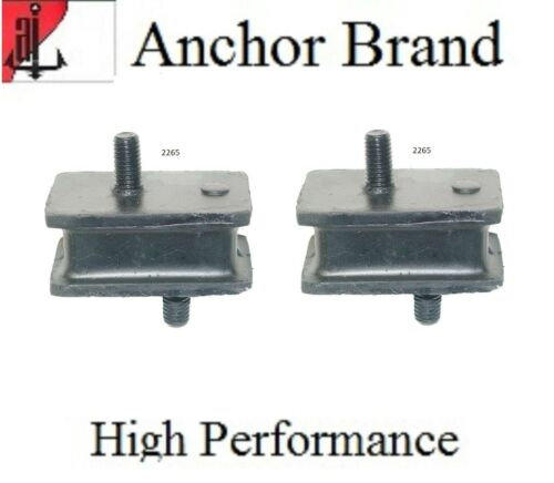 2 PCS Motor Mount Kit For DODGE D100 PICKUP 7.2L 440 Engine 1973-1974