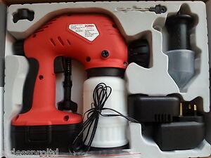 electric cordless spray gun airless paint sprayer ebay. Black Bedroom Furniture Sets. Home Design Ideas
