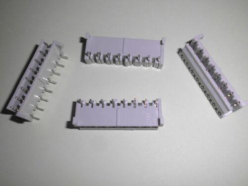 5 x LUMBERG PLUG SOCKET Card Connector Card Connector 8 Pole Grip 5 MM
