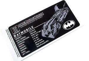 CUSTOM-UCS-STYLE-DISPLAY-PLAQUE-STICKER-for-Lego-7784-BATMOBILE-BOOM
