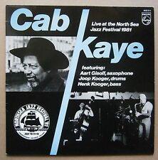 LP Cab Kaye – Live At The North Sea Jazz Festival 1981 Holland Nm Vinyl 1982