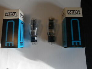 Cetron-300b-Tube-NOS-matched-pair