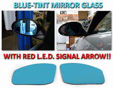 Red Arrow LED Turn Signal Mirror Glass Fit For 03-05 Nissan 350Z Fairlady Z