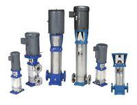 Goulds 1sv18fa30 18 Stg Esv Ss Vertical Water Pump Liquid End Grundfos Cr1 Cr 1