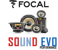 Focal PS165F3 Flax Cone 3-way component Speaker kit