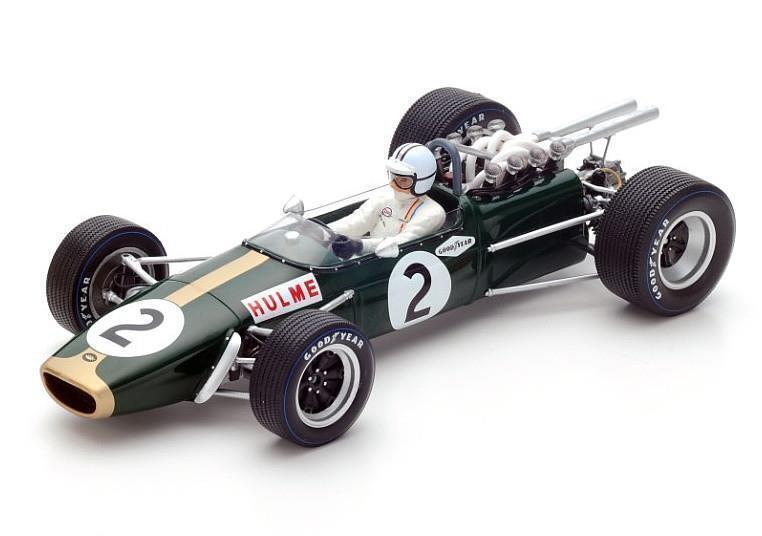 Spark F1 1 18th scale 18S224 Brabham BT24 Denny Hulme 1967 F1 World Champion