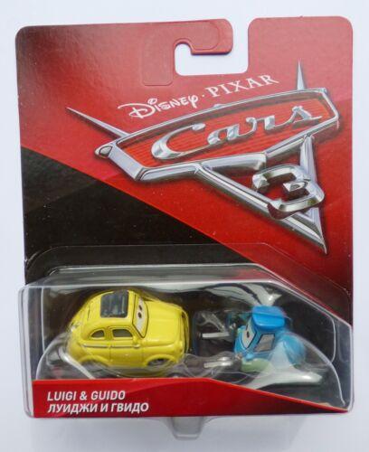 Disney Pixar Cars 3   LUIGI /& GUIDO  Very Rare Over 100 Cars Listed !!