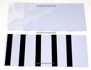 10 Pcs White CR80 PVC Credit Card LoCo Magnetic Stripe .30 mil for ID Printers