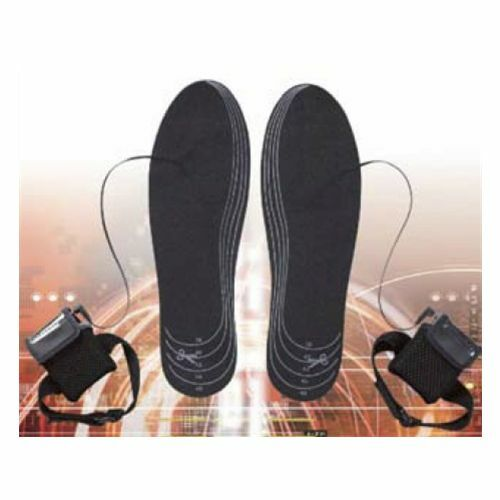 Heated Insoles Electric Battery Powered For Shoes Boots Keep Feet Warm Outdoors