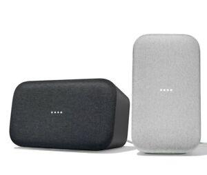 Google-Home-Max-Hands-Free-Smart-Speaker-Charcoal-Chalk