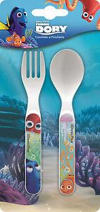 Ricerca di Nemo Dory | | Hank 2pc i pasti Set di posate in plastica | Forchetta e Cucchiaio  </span>
