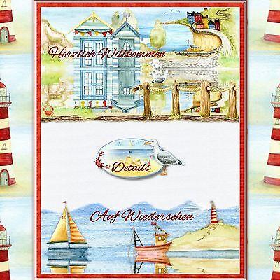 Auktionsvorlage Leuchtturm Shabby Maritim eBay Vorlage Responsive Template | 568