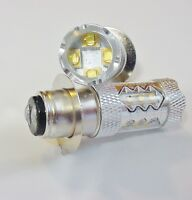 05 06 Fits Suzuki Quadsport Vinson 500 Atv Super White 80w Leds Headlights Bulbs
