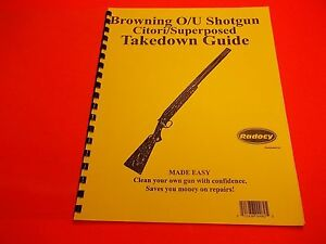 takedown manual browning over under shotgun citori superposed nice rh ebay com browning citori field service manual browning citori manual pdf