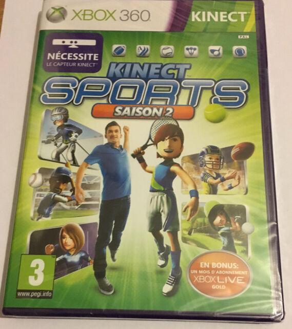Kinect Sports - Saison 2 Jeu Xbox 360 Neuf Sous Blister
