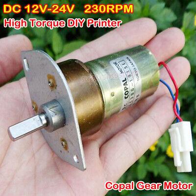 DC1.5V-12V moteur mute Micro Shaft Gear auto couple élevé Vitesse pour RC Modèle À faire soi-même