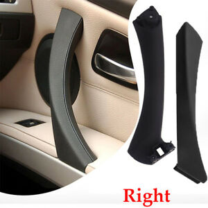 Right-Side-Black-Inner-Outer-Door-Panel-Handle-Pull-Trim-Cover-for-BMW-E90-CHY