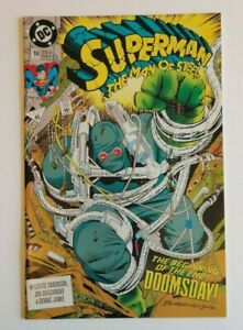 DC-Comics-Superman-The-Man-of-Steel-18-1992-1st-Full-Appearance-Doomsday