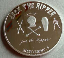 Rare Secret Society Coin Occult Jack Ripper Zodiac History Serial Killer Cult X
