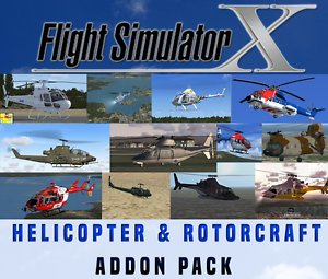 Details zu Flight Simulator X FSX Addon Bundle - Helicopters & Rotorcraft  *15+ NEW ADD ONS*