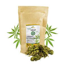 Certified Organic Hemp Flower Buds Tea 50g Biopurus