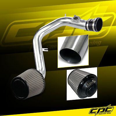 03-06 Toyota Matrix XRS 1.8L 4cyl Polish Cold Air Intake + Stainless Air Filter