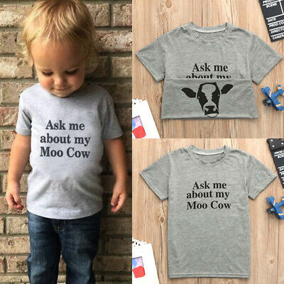 Ask Me About My Moo Cow Mens Casual Slim Fit Short Sleeve T-Shirt 100/% Cotton Tee Tops