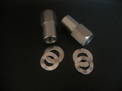 BMW STAINLESS STEEL ROCKER BOX NUTS & WASHERS R45 R50 R60 R65 R68 R69 R90S R80