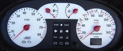 ST Dial Kit 8007b Lockwood AUSTIN MINI Mini 110MPH blanc