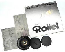 Rolleinar MC 55mm f1.4 Rollei mount  #6101366 ......... Minty w/Box,Caps,Card