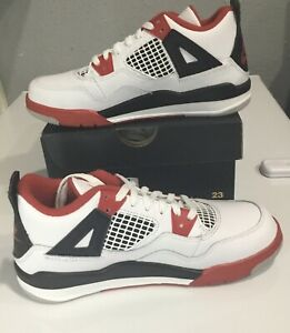 Details about IN HAND Nike Air Jordan 4 Retro OG 2020 Fire Red (PS) Shoes Size 2Y BQ7669-160