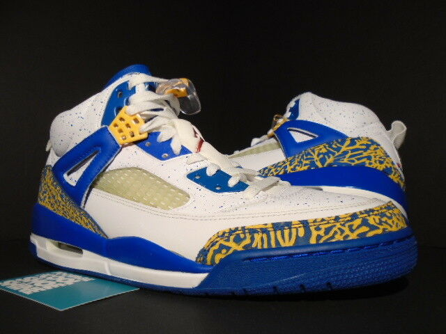 Nike Nike Nike Air Jordan SPIZIKE DTRT DO THE RIGHT THING WHITE RED gold ARGON blueE 11.5 80af45