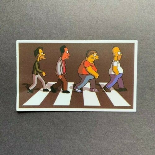 The Simpsons Stickers Different Designs Laptop Car Motorcycle Skateboard Funny