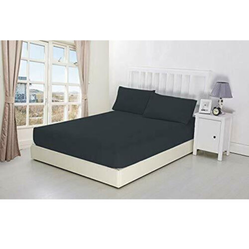 """Get 3 /& 1 Free Extra Deep Fitted Bed Sheet 40cm 16/"""" Single Double King S.King"""