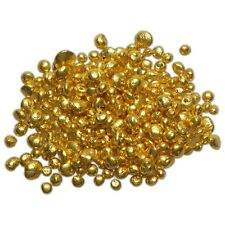 1 gram 24K .9999+ Refined Pure Gold Grain Shot Round Bullion
