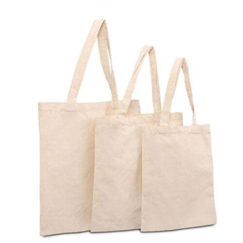 Shopping Sac Eco Beige Coton tout Fourre Simple Sling Épaule zw6qTA