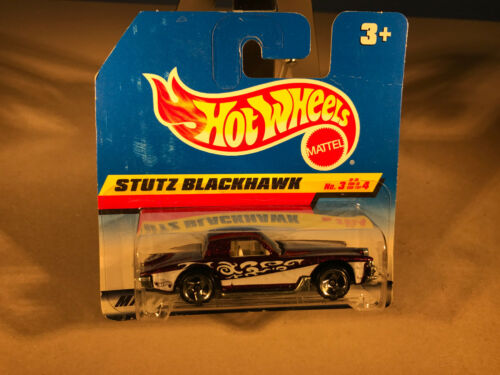 No Mattel Hot Wheels Modellauto Stutz Blackhawk 3 violett