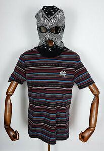 Huf Worldwide Skateboard T-Shirt Tee Topanga Knit Top Navy Blazer in M