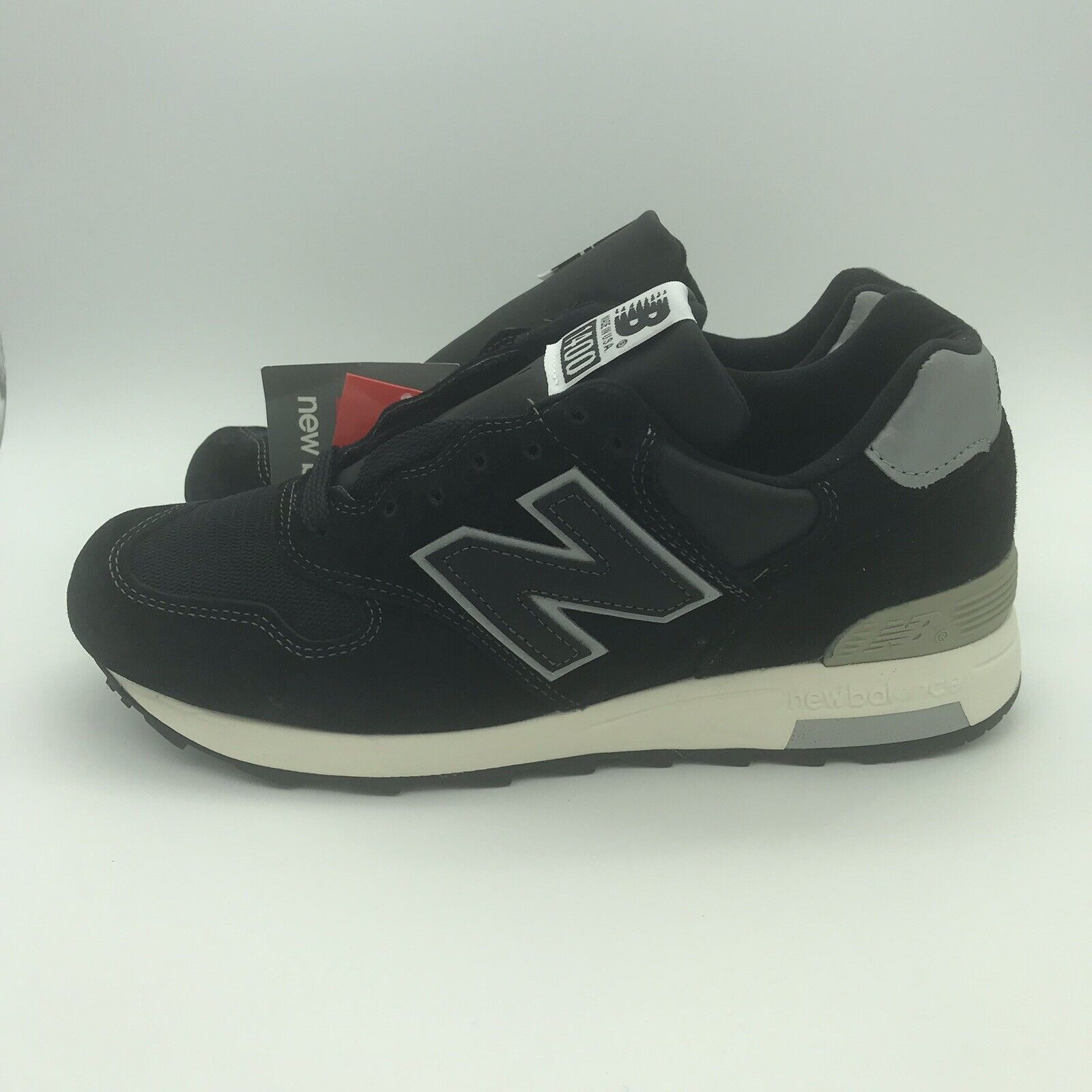 New Balance M1400BKS Black Silver White Made in USA Japan Exclusive Men's Size 7