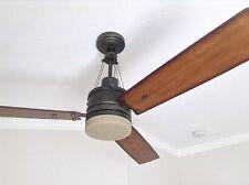 Emerson fans cf205vs highpointe vintage steel 54 ceiling fan ebay emerson 54 highpointe vintage steel remote control ceiling fan wlight cf205vs aloadofball Image collections