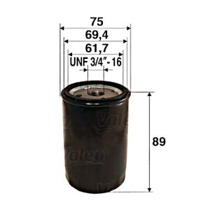 VALEO Oil Filter For FIAT ALFA ROMEO LANCIA SEAT AUTOBIANCHI ABARTH 127 510889