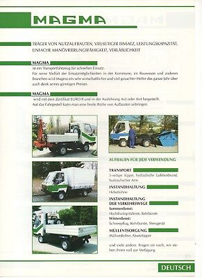 _1997 Prospekt made In Czech Brochure Perfect In Workmanship Spirited Alfine Magma Truck