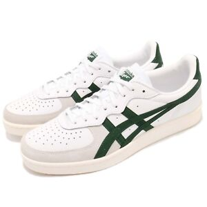 Asics-Onitsuka-Tiger-GSM-White-Hunter-Green-Men-Casual-Shoes-Sneakers-D5K2-Y101