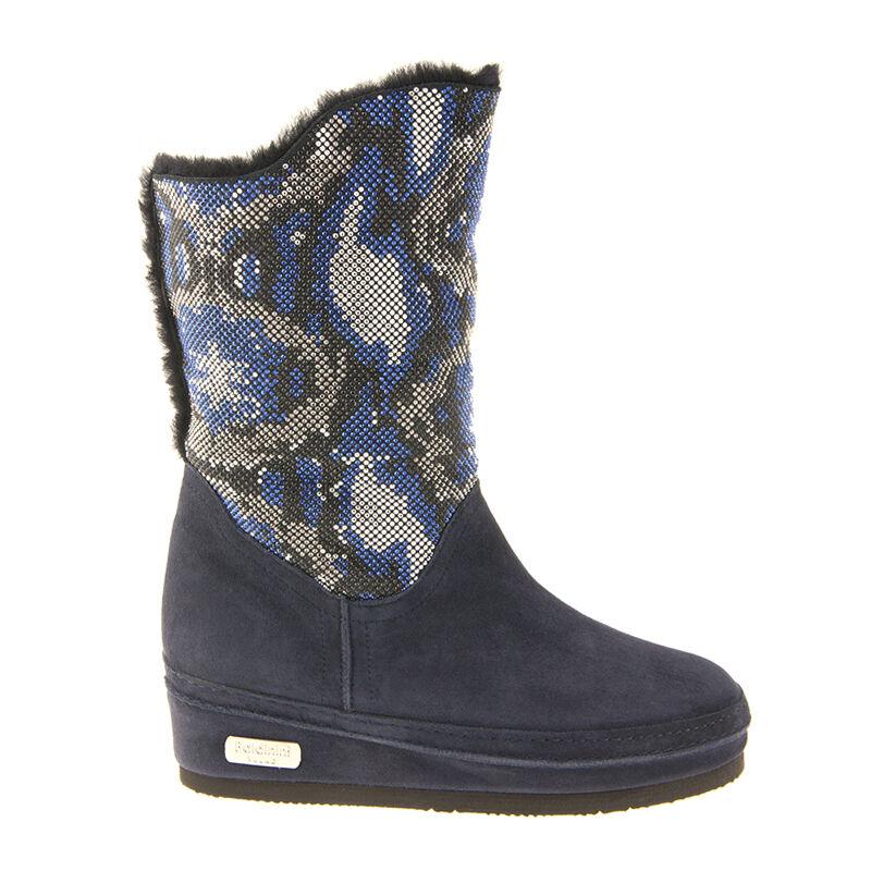 prezzi bassissimi Authentic Baldinini Leather Italain Italain Italain stivali Fur blu Dimensiones 7,8,10,11  per offrirti un piacevole shopping online