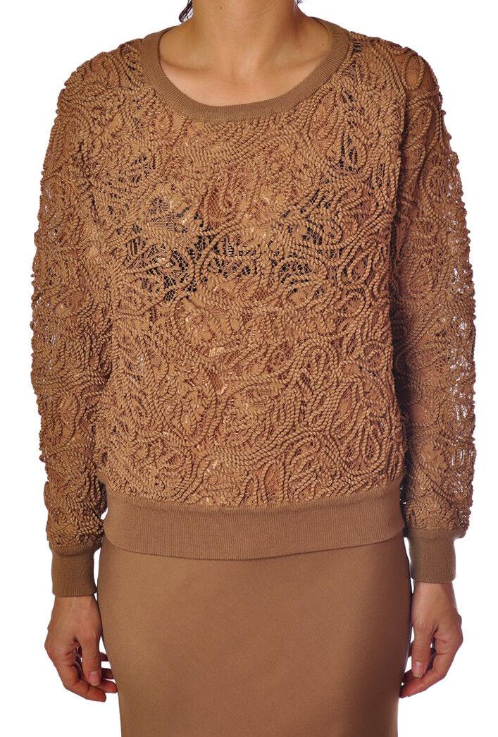 Twin Set  -  Sweaters - Female - Beige - 3079010A184127
