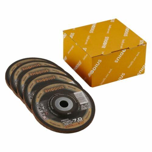 5x RHODIUS Schruppscheiben ON-RS28 Ø 125x7,0x22,23mm5er Pack