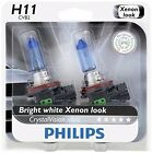 2x Philips H11 Upgrade Ultra CrystalVision Xenon Bright White 12362 Light Bulb