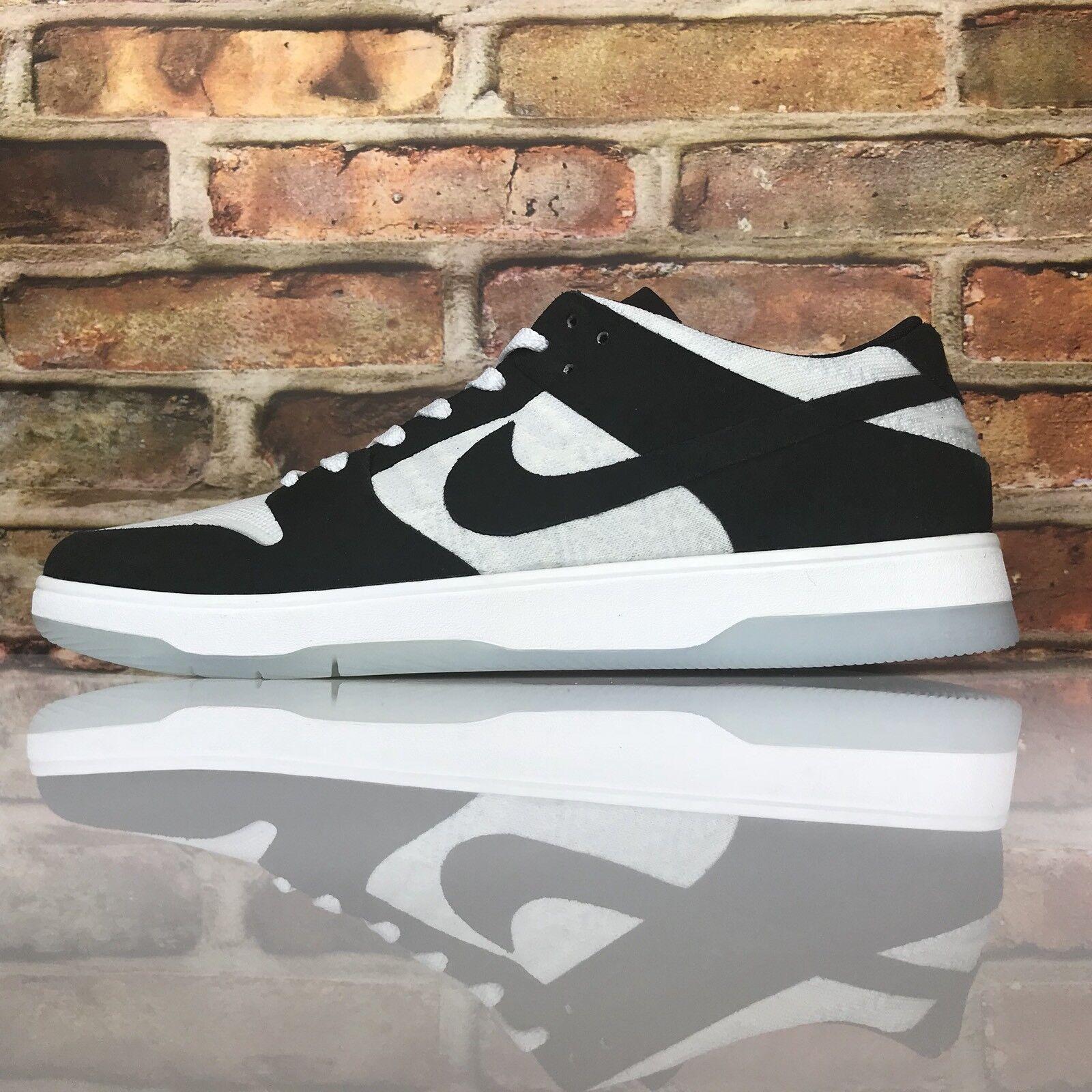 Nike SB Zoom Dunk Low Elite QS Mens 9.5 Oski Rozenberg White Black 877063-001 Cheap and beautiful fashion