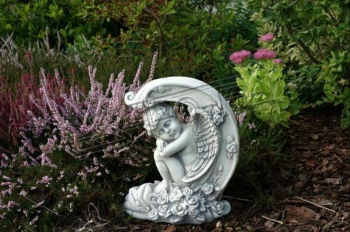 Grabschmuck Grab Stein Dekoration Engel Figur Skulptur Gott Heilig 40cm S101186